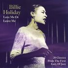 BILLIE HOLIDAY Love Me or Leave Me album cover