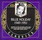 BILLIE HOLIDAY The Chronological Classics: Billie Holiday 1949-1951 album cover