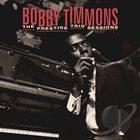 BOBBY TIMMONS The Prestige Trio Sessions album cover