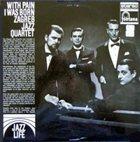 BOŠKO PETROVIĆ With Pain I Was Born (as Zagreb Jazz Quartet) album cover