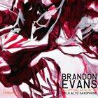 BRANDON EVANS Elliptical Axis 107 / 108 (solo alto saxophone) album cover