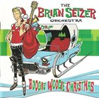 BRIAN SETZER ORCHESTRA Boogie Woogie Christmas album cover