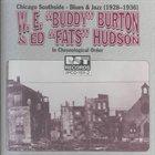 BUDDY BURTON Chicago Southside-Blues & Jazz: 1928-1936 album cover
