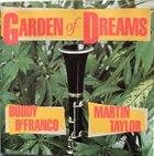 BUDDY DEFRANCO Buddy DeFranco, Martin Taylor : Garden Of Dreams album cover