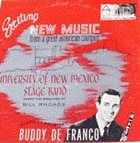 BUDDY DEFRANCO Exciting New Music From A Great American Campus (with University Of New Mexico Stage Band) album cover