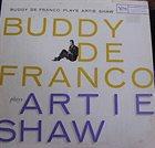 BUDDY DEFRANCO Plays Artie Shaw album cover