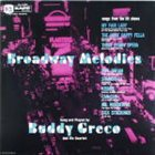 BUDDY GRECO Broadway Melodies album cover