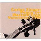 CARLOS ZINGARO Carlos Zingaro / Peggy Lee : Western Front, Vancouver 1996 album cover