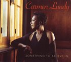 CARMEN LUNDY Something to Believe In album cover