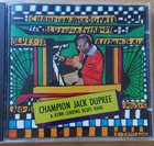 CHAMPION JACK DUPREE Champion Jack Dupree & Kenn Lending Blues Band : Blues Is Freedom To All album cover