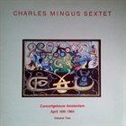 CHARLES MINGUS Charles Mingus Sextet: Concertgebouw Amsterdam April 10th 1964. Vol 2 (aka Charlie Mingus' Jazz Workshop) album cover