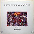 CHARLES MINGUS Paris, TNP October 28th 1970 (aka Charles Mingus In Paris 1970) album cover