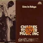 CHARLES TOLLIVER Charles Tolliver / Music Inc : Live In Tokyo album cover