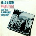 CHARLIE HADEN Quartet West album cover