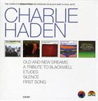 CHARLIE HADEN The Complete Remastered Recordings On Black Saint & Soul Note album cover