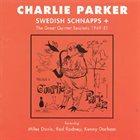 CHARLIE PARKER Swedish Schnapps album cover