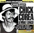 CHICK COREA Chick Corea & Mike Longo : Piano Giants album cover