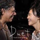 CHICK COREA Duet (Chick & Hiromi) album cover
