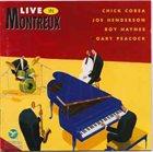 CHICK COREA Live In Montreux album cover