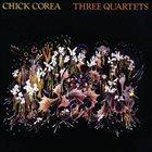 CHICK COREA Three Quartets album cover