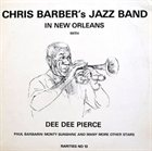 CHRIS BARBER Chris Barber's Jazz Band In New Orleans album cover