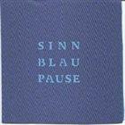 CHRISTOF KURZMANN Sinn.Blau.Pause album cover