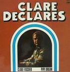 CLARE FISCHER Clare Declares - Pipe Organ album cover