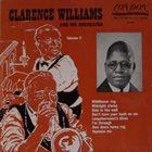CLARENCE WILLIAMS Clarence Williams & His Orchestra   Volume 2 album cover