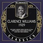 CLARENCE WILLIAMS The Chronological Classics : 1929 album cover