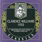 CLARENCE WILLIAMS The Chronological Classics: 1933 album cover