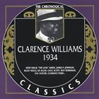 CLARENCE WILLIAMS The Chronological Classics: 1934 album cover