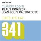 CLAUDIO RODITI Three For One album cover
