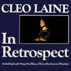 CLEO LAINE In Retrospect album cover