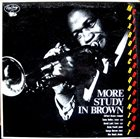 CLIFFORD BROWN More Study in Brown album cover