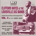 CLIFFORD HAYES Clifford Hayes & the Louisville Jug Bands, Vol. 4 album cover