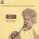 CLIFFORD THORNTON Freedom & Unity album cover