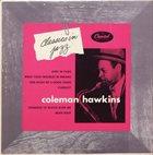 COLEMAN HAWKINS Classics In Jazz album cover