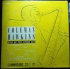 COLEMAN HAWKINS King Of The Tenor Sax album cover