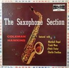 COLEMAN HAWKINS The Saxophone Section With Coleman Hawkins (aka Meets The Big Sax Section  aka An Evening at Papa Joes aka The Basie Saxophone Section) album cover