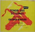 COLEMAN HAWKINS Tenor Sax Stylings, Vol. 1 album cover