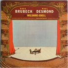 DAVE BRUBECK Dave Brubeck & Paul Desmond ‎: At Wilshire-Ebell (aka Recorded Live At Newport Jazz Festival) album cover