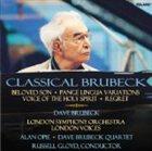 DAVE BRUBECK Classical Brubeck album cover