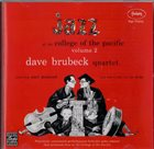 DAVE BRUBECK Jazz at the College of the Pacific Vol. 2 album cover