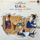 DAVE BRUBECK Jazz Impressions of the U.S.A album cover