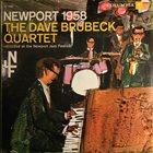DAVE BRUBECK The Dave Brubeck Quartet : Newport 1958 (aka Newport Festival) album cover