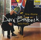 DAVE BRUBECK One Alone: Solo Piano album cover