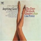 DAVE BRUBECK The Dave Brubeck Quartet Plays Cole Porter: Anything Goes! album cover