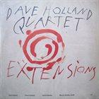 DAVE HOLLAND Dave Holland Quartet : Extensions album cover
