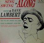 DAVE LAMBERT Sing Along and Swing Along album cover
