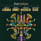 DAVE LIEBMAN Four Visions Saxophone Quartet album cover